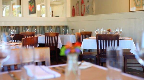 Ellerbe Fine Food Restaurant Dining Room