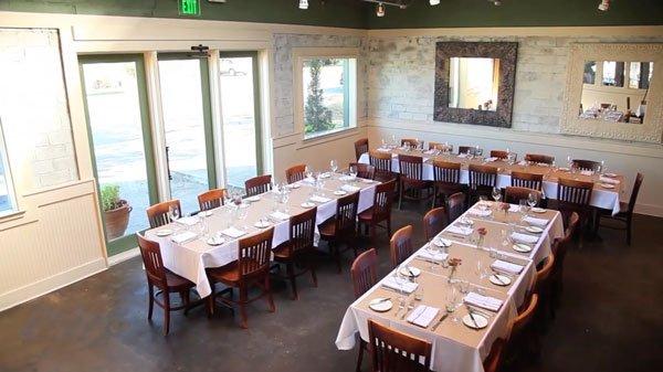 Ellerbe Fine Food Restaurant Event Setup